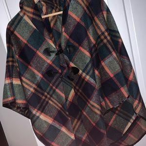 Jackets & Blazers - Poncho jacket